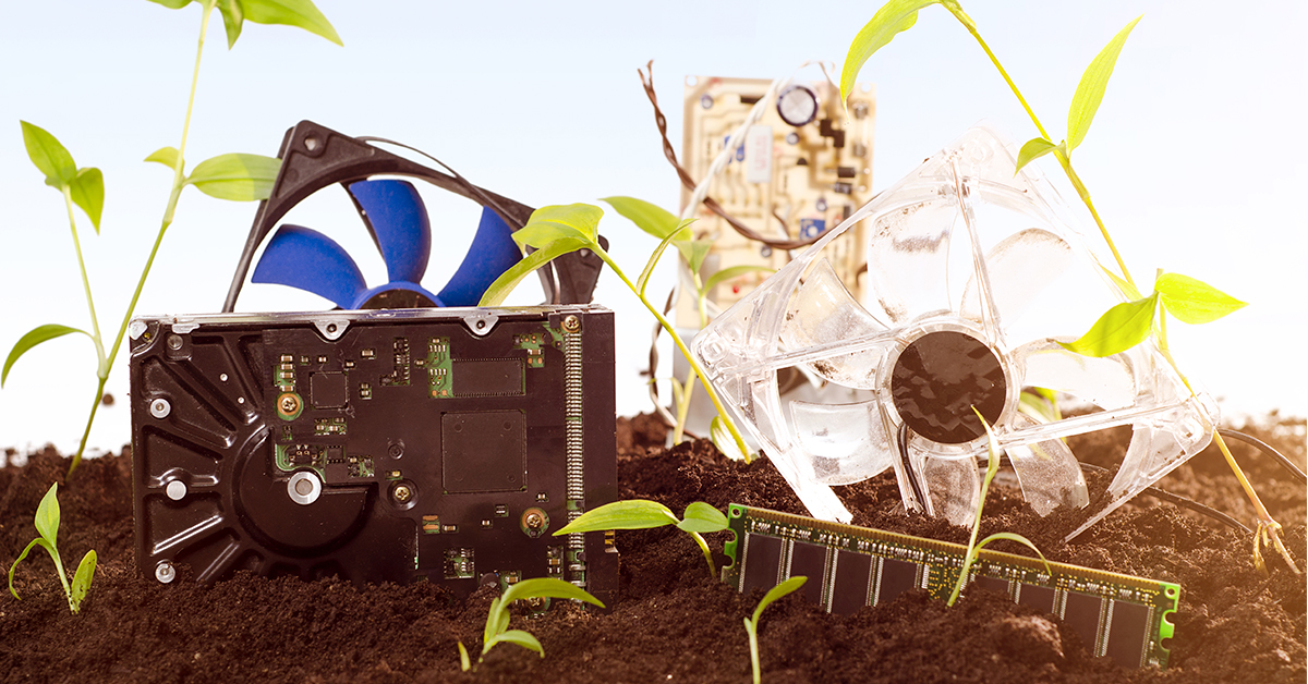 e-waste recycling protects the environment